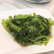 蒜蓉通菜 Kangkong in garlic sauce
