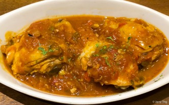 Pollo al Chilindron • Slow cooked home made chicken stew