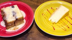 Pudin de Pan y Mantequilla • Bread & butter pudding | Pastel de Naranja y Queso • Orange cheesecake