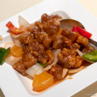 酸甜咕咾肉 Sweet & Sour Pork with Pineapple