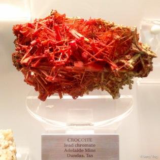 Lead chromate from Tasmania