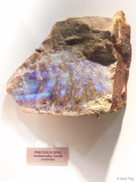 Opal from a South Australian mine