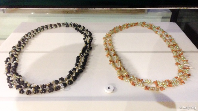 Traditional Tasmanian shell necklaces