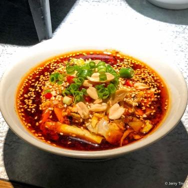 成都棒棒鸡 chicken in chilli sauce