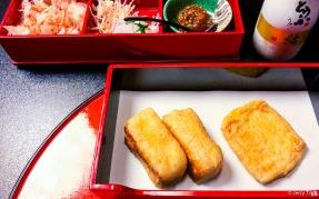 Charcoal-grilled Deep-fried Tofu 揚げ炭火焼
