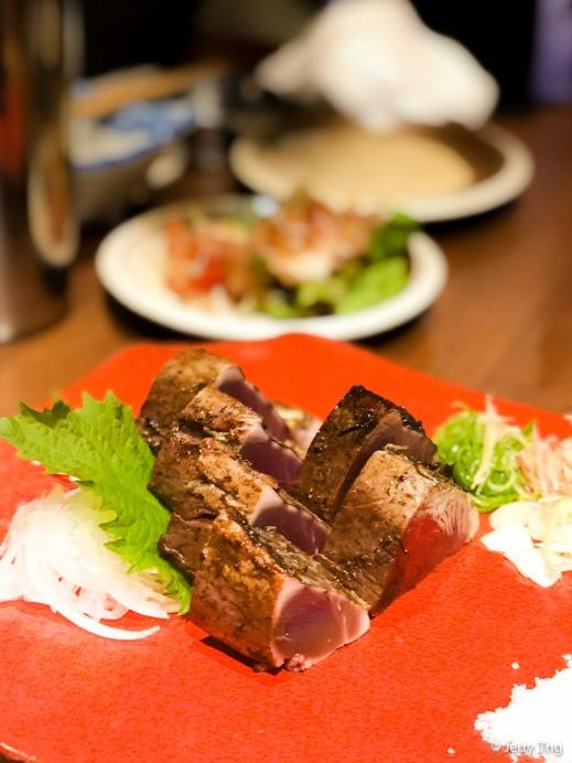 """カツオの藁焼き """"Warayaki"""" Skipjack Tuna"""