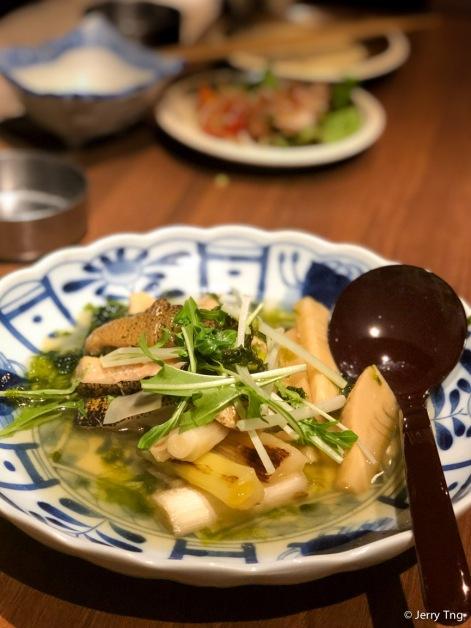 季節の炊き合せ 穴子 Seasonal cooking - Conger eel