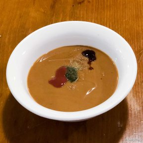 麻酱韭菜蒜末