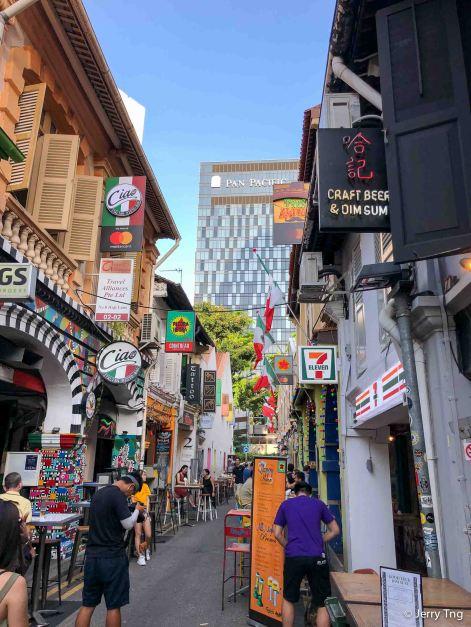 Haji Lane in the day