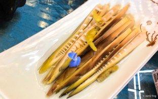 腌竹笋 brined bamboo sharps