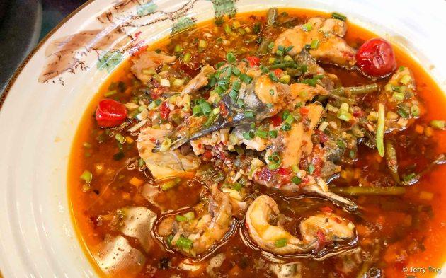 招牌土鳝鱼 Signature catfish in Sichuan spice