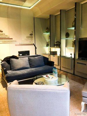 Living room for a tea perhaps