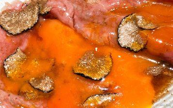 サーロインのトリュフすき焼き
