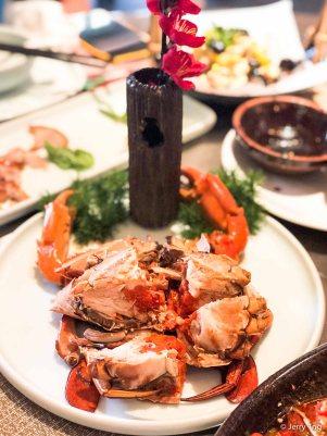 醉肉蟹 drunken crab
