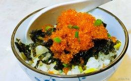 ebiko seaweed rice