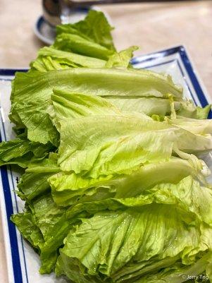 生菜 Chinese lettuce