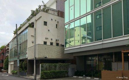 大岡越前守屋敷跡(旧赤坂小跡)