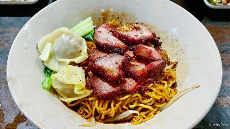 Thai wanton bakmee