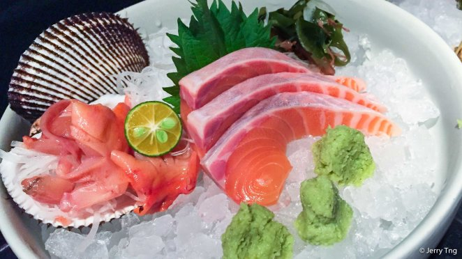 A la carte sashimi