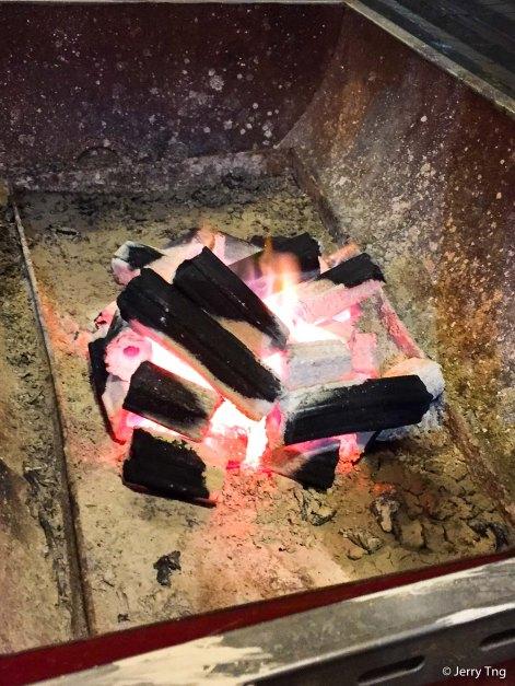 BBQ aborigines style