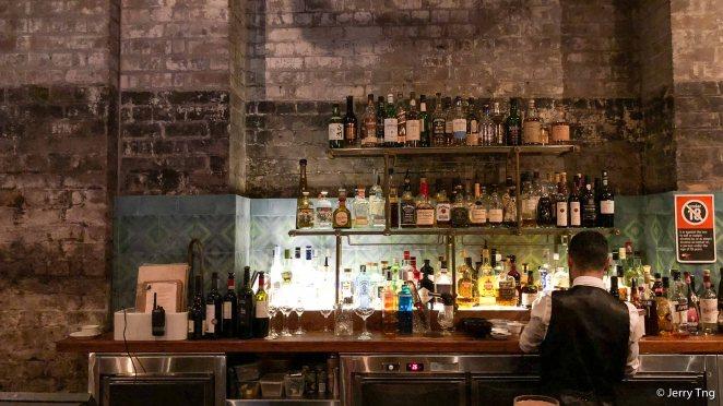 A full service bar