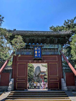 Benevolence and Longevity Gate 仁寿门