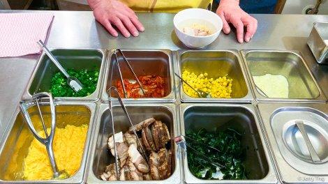 Pick your ramen ingredients