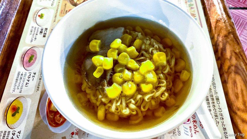 Instant noodles of course
