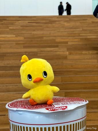 The mascot - Chikin-chan
