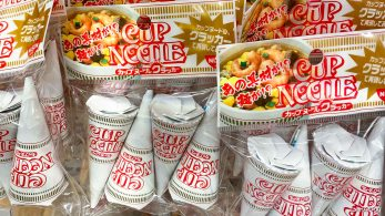 Cupnoodles cones, yes, single serving