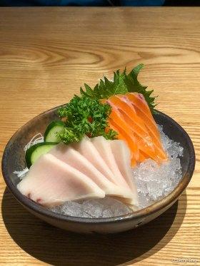 Mekajiki and salmon