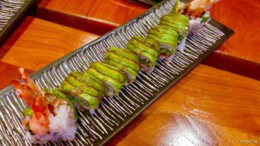 Tempura shrimp and crab roll