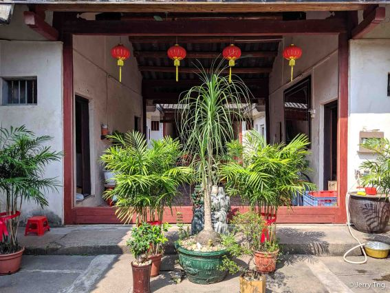 潮州两进房 Typical Teochew houses with two air wells