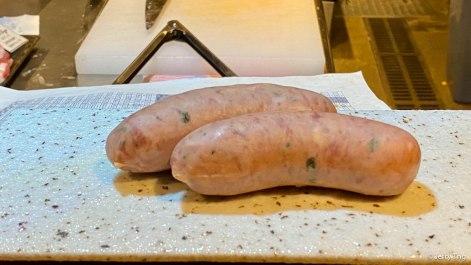 Mutton sausage....