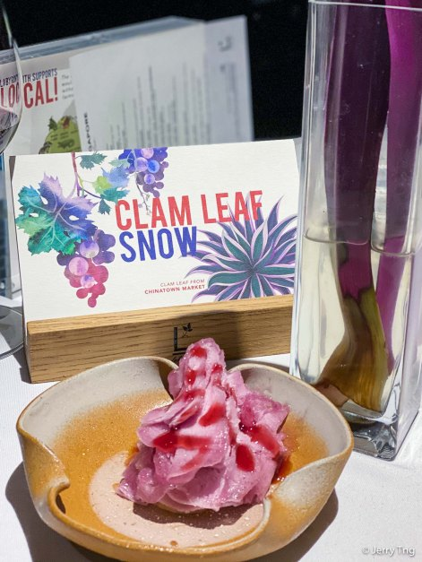 Clam Leaf Snow
