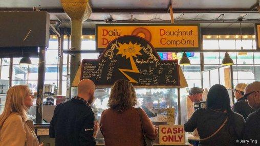 Fresh doughnuts, Yummmmmmy!