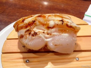 Grilled scallops nigiri