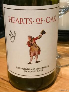 Organic white wine