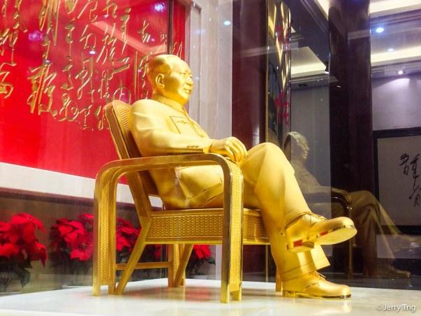 "The ""golden Mao"""