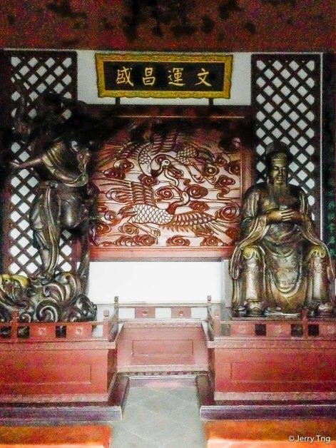 文昌 魁星像 Statues of Wenchang and Kuixing