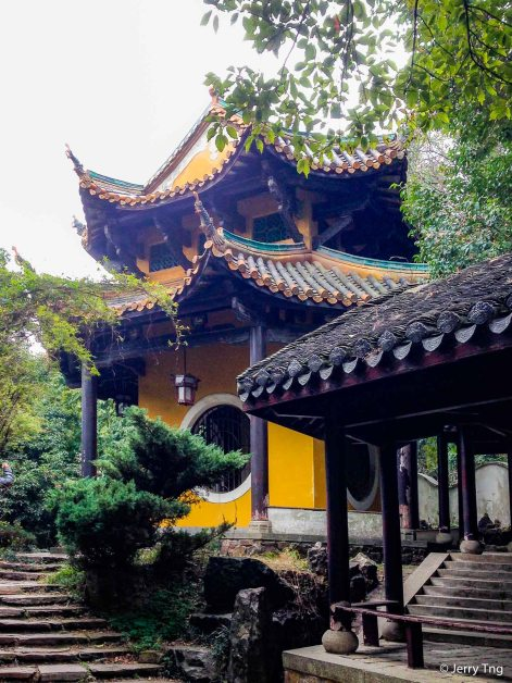 Lushan Temple Plaque Pavilion 麓山寺碑亭