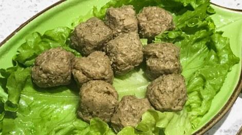 招牌素丸子 mushroom balls