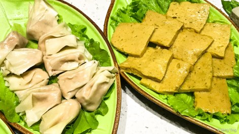 太平燕 油面筋 dumpling and bean curd