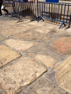 Paving stones from the Second Temple period (100BC - 100AD)