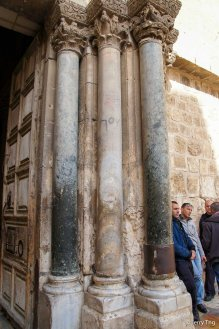 Main Entrance to Church of Holy Sepulchre