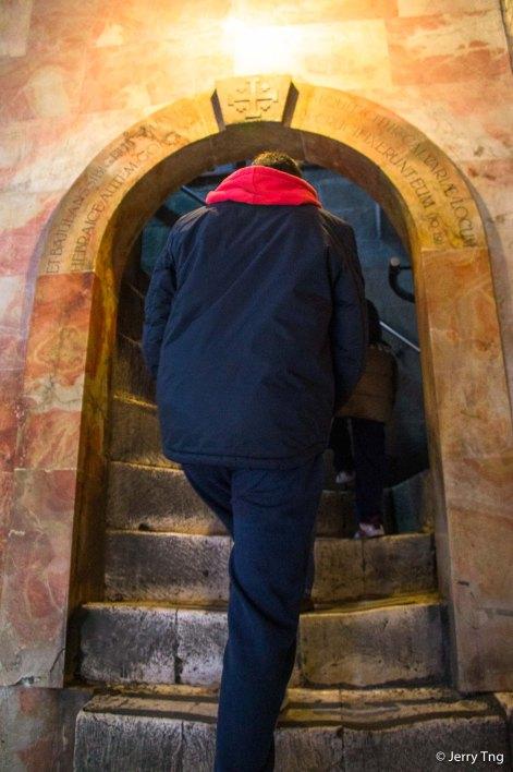 Stairs to Calvary