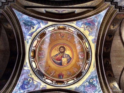 The Christ Pantocrator mosaic