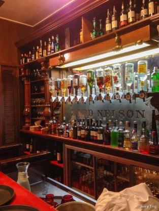 Classic bar counter