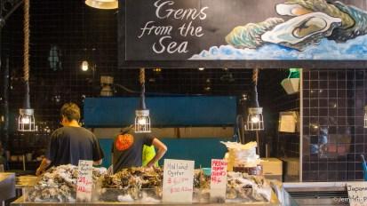 to fresh seafood