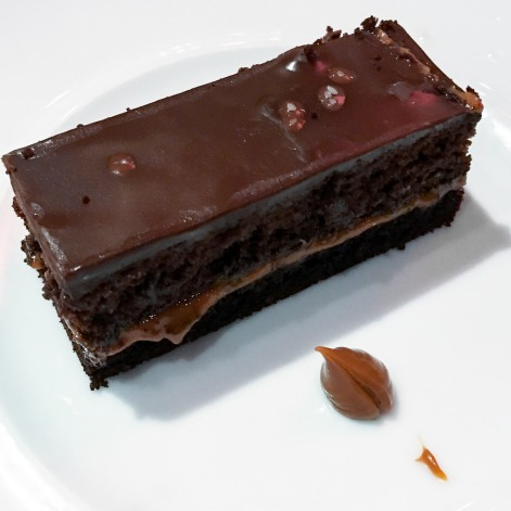 Gianduja chocolate cake